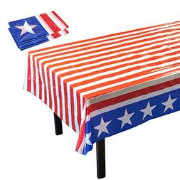 Disposable Table Covers - 3 Pack American Party Supplies Sta