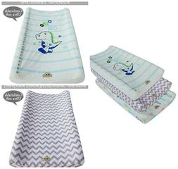 Baby Changing Table Pad Cover Stretchy Changing Mat Diaper C
