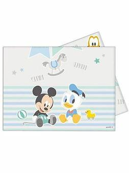 Baby Mickey Plastic table cover  for a party