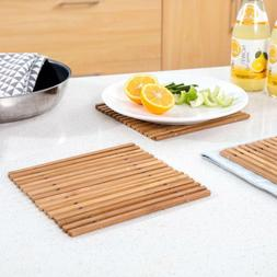 Bamboo Table Placemat Kitchen Dining Mats Place Mat Decor Co