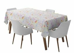 S4Sassy Bandhani Outdoor Dining Table Cover s s For Parties-