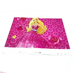 Barbie Princess disposable table cover,Party tableware,birth