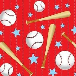 Baseball Designs Plastic Table Covers- Free shipping