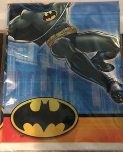 Batman Superhero Comic Plastic Table Cover Child's Birthday