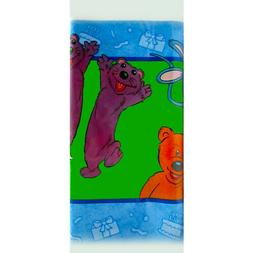 BEAR IN THE BIG BLUE HOUSE PLASTIC TABLE COVER ~ Birthday Pa