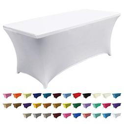 Best Tablecloth Stretch Spandex Table Cover-Table Toppers Po