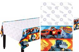 NEW Blaze and the Monster Machines Plastic Table Cover Birth