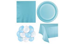 Blue Baby Boy Baby Shower Party Supplies Tableware Decoratio