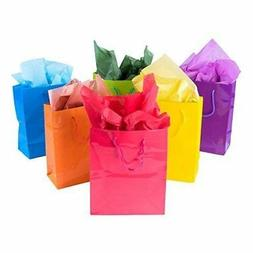 Adorox 12 Assorted  Bright Neon Colored Party Present Paper