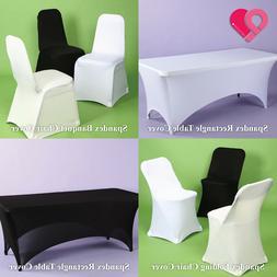 BULK Spandex Stretch Banquet Folding Chair Table Cover Weddi