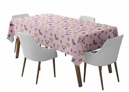 S4Sassy Cat & Skull Outdoor Dining Table Cover Home Decor Ta