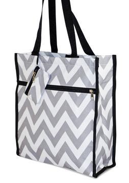 Chevron Womens Small Tote Bag Handbag Purse for Travel Work