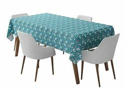 S4Sassy Chihuahua Dot Outdoor Dining Table Cover Home Decor