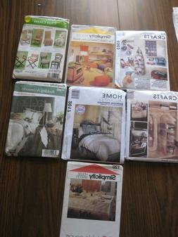 Choose One Sewing Pattern for Household Decor-Bedroom,Dining