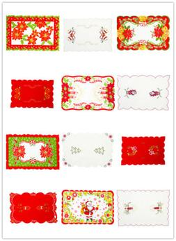 Christmas Dinner Table Runner Placemat Cushion Cover Tablewa