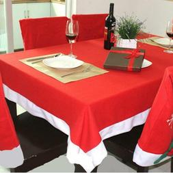 christmas rectangle tablecloth dining table cover romatic
