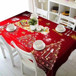 Meijuner Christmas Tablecloth Polyester Dustproof <font><b>T