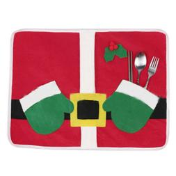 Christmas Theme Placemat Table Runner Cushion Cover Mat Cutl