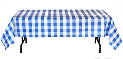 Classic Plaid Collection Picnic Party 54 x 108 Inch Laminate