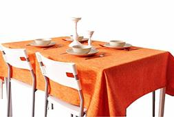 George Jimmy Classical Thicken Tablecloth Solid Colors Table