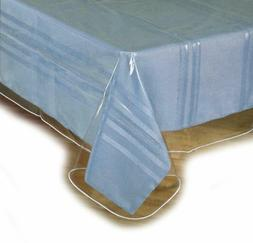 clear plastic tablecloth protector