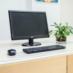 Clear Soft Glass PVC Protector Desk Mat Desktop Rectangle Di