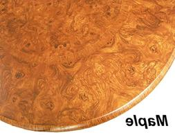 """Table Cloth Round 36"""" to 48"""" Elastic Edge Fitted Vinyl Table"""