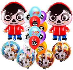 COCO PARTY SUPPLIES CUPS PLATES NAPKINS BANNER TABLE COVER B