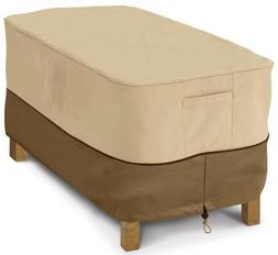 Classic Accessories Coffee Table Cover Rectangular, Pebble,