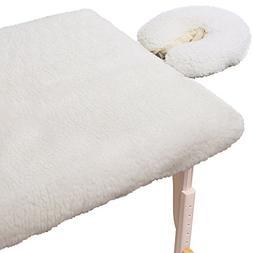 ForPro Comfy Soft Luxury Fleece Pad Set, Natural, Extra Soft