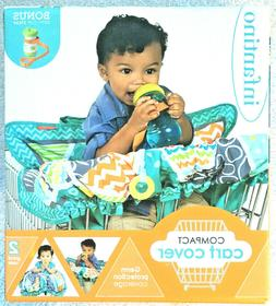 Infantino Compact Cart Cover & Bonus Sippy Cup Strap 2 in 1