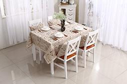 Cotton lace table cloth tablecloth cover towel , 90*140cm