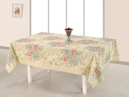 ShalinIndia Cotton Printed Table Cloth Cover Rectangle Table