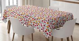 Cranberry Tablecloth Ambesonne 3 Sizes Rectangular Table Cov