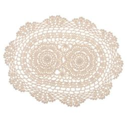 Crochet Lace Place Mats Cup Mats Table Doily Table Cover For