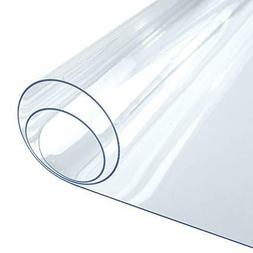 Clear Table Cover Protector, 1.5mm Thick Table Protector for