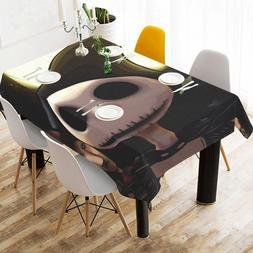 Custom Home Deco Nightmare Before Christmas Table Cover Tabl