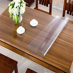 OstepDecor Custom 1.5mm Thick Frosted PVC Table Cover Protec