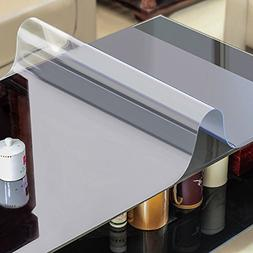 AiXiAng Custom 1.5mm Waterproof Clear pvc Table Cover Protec