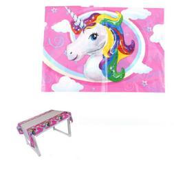 Cute Unicorn Tablecloth baby shower table cover birthday par