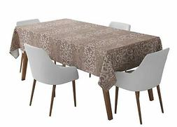 S4Sassy Damask Outdoor Dining Table Cover s s For Parties-GM