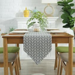 Decorative Table Cloth Cotton Linen Rectangular Dining Table