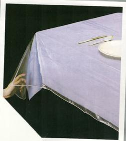 "DELUXE COLLECTION Clear Tablecloth Protector, 70"" Round"
