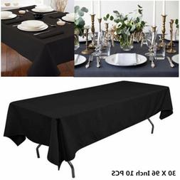"""Dining Bar Tablecloths 30X96"""" Rectangular Table Cover For We"""