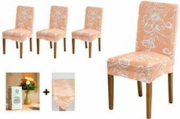 Dreeton Dining Room Chair Covers Set of 4 with Table Runner,
