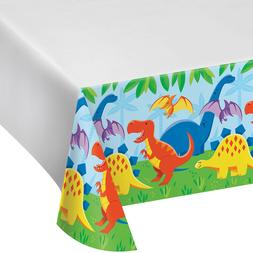 Dinosaur Friends Table Cover - Dino Birthday Party Supplies