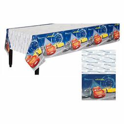Disney Cars 3 Plastic Table Cover Boys Birthday Party Suppli