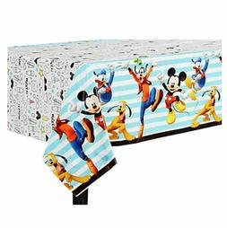 Disney Mickey Mouse Plastic Table Cover ~ Birthday Decoratio
