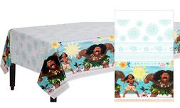 Disney Moana 1X Plastic Table Cover Birthday Party Supplies