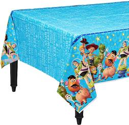 Disney Toy Story 4 Plastic Table Cover Kids Birthday Party S